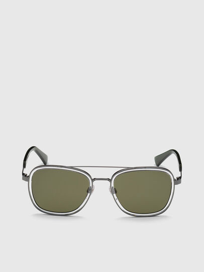 Diesel - DL0320, Green - Sunglasses - Image 1