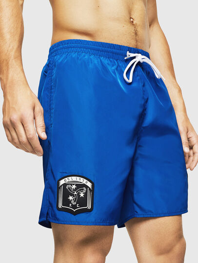 Diesel - BMBX-WAVENEW, Brilliant Blue - Swim shorts - Image 4