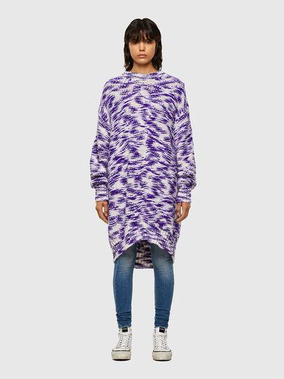 Diesel - M-HEATH, Violet/White - Knitwear - Image 1