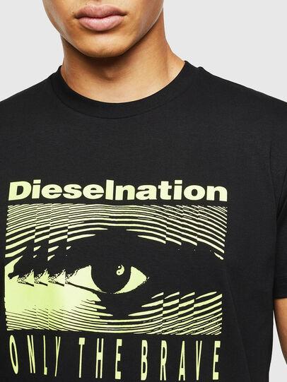 Diesel - T-DIEGO-J4, Black - T-Shirts - Image 5