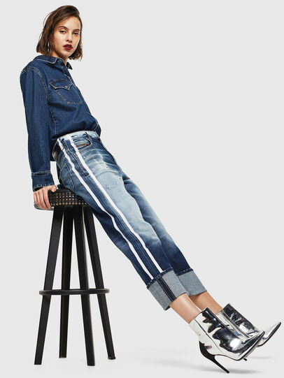 Diesel - D-Reggy 0096S, Medium blue - Jeans - Image 7