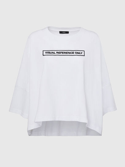 Diesel - T-CRAMBLE, White - T-Shirts - Image 1