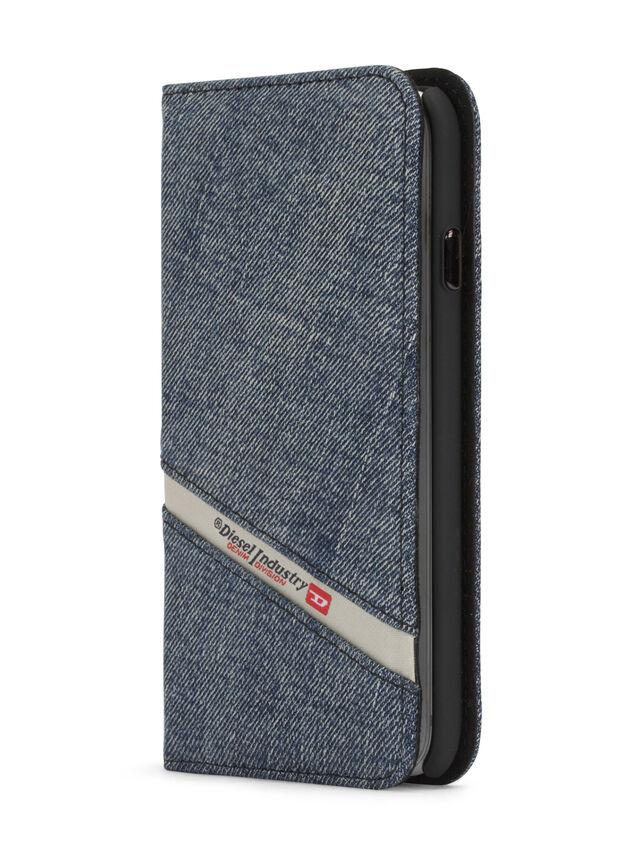 Diesel - DENIM IPHONE 8/7 FOLIO, Blue Jeans - Flip covers - Image 3