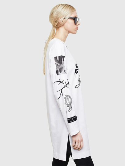 Diesel - T-ROSY-A, White - T-Shirts - Image 6