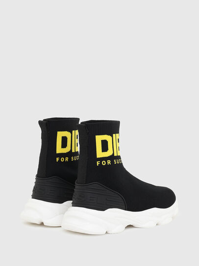 Diesel - S-SERENDIPITY SO MID, Black/Yellow - Footwear - Image 3
