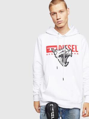 S-GIR-HOOD-BX1, White - Sweaters