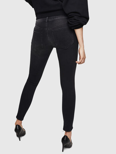 Diesel - Slandy 069BU, Black/Dark grey - Jeans - Image 2