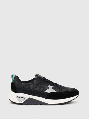 S-KB LOW LACE II, Black/Dark grey - Sneakers