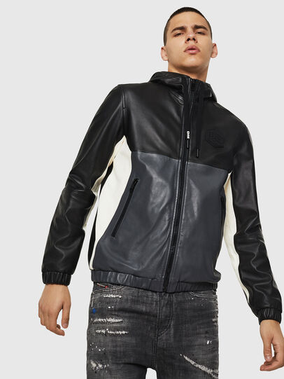 Diesel - L-CARR,  - Leather jackets - Image 6