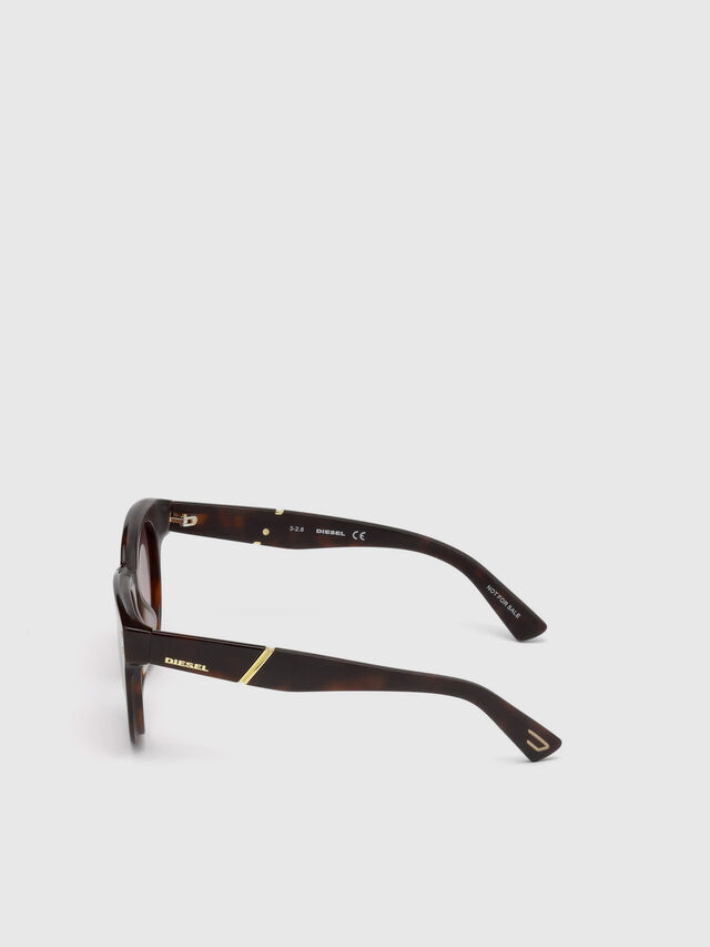 Diesel - DL0230, Brown/Black - Eyewear - Image 3