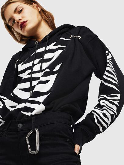 Diesel - F-ALBYHOOK-C, Black - Sweaters - Image 4