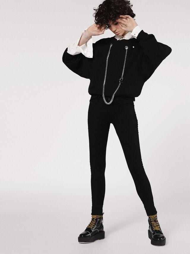 SLANDY 0860S, Black Jeans
