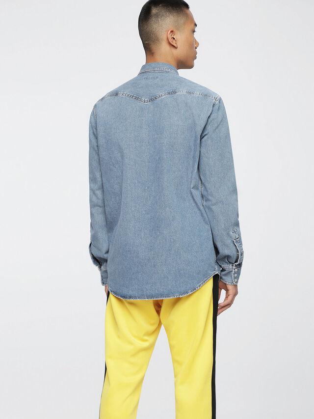 Diesel D-ROOKE, Blue Jeans - Denim Shirts - Image 2