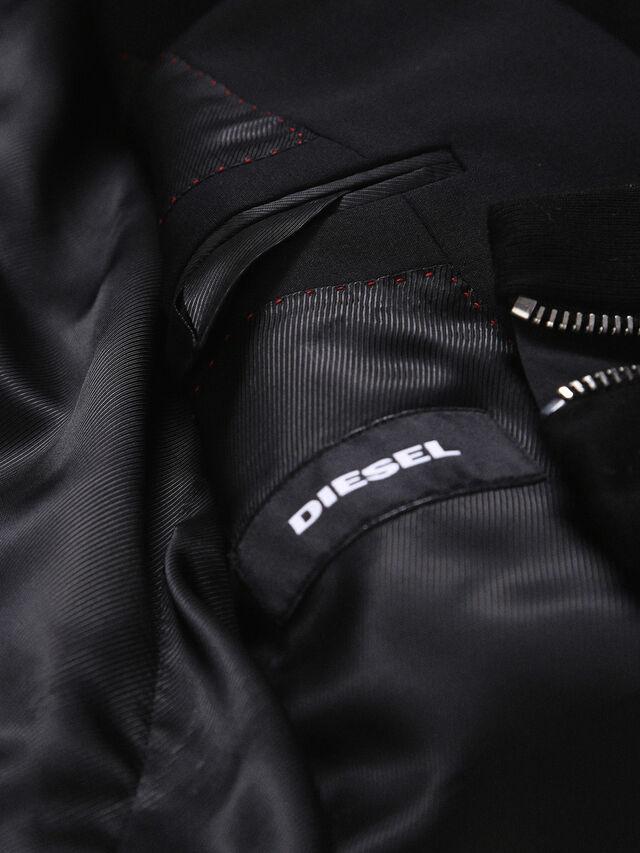Diesel - DVL-BLAZER-HOOD-RE, Black - Jackets - Image 8