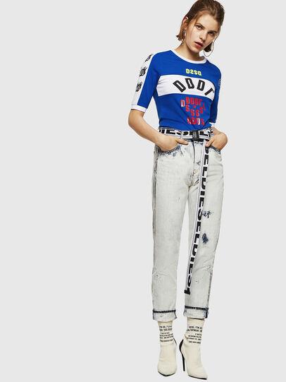 Diesel - T-HEIA-B, Brilliant Blue - T-Shirts - Image 5