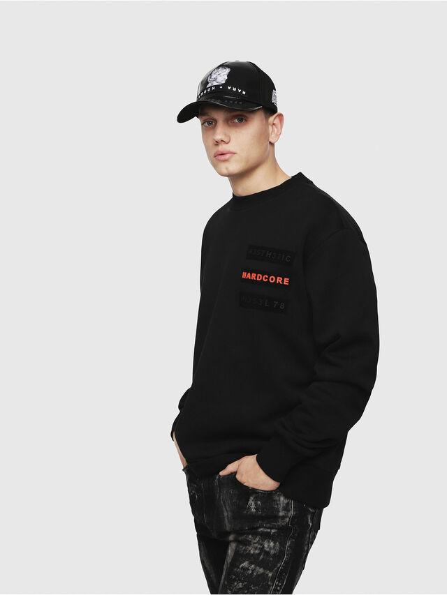 Diesel - S-BAY-YE, Black - Sweaters - Image 1