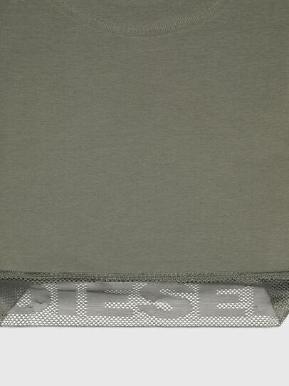 Diesel - UFTEE-GIORGMESH-SV, Military Green - T-Shirts - Image 3