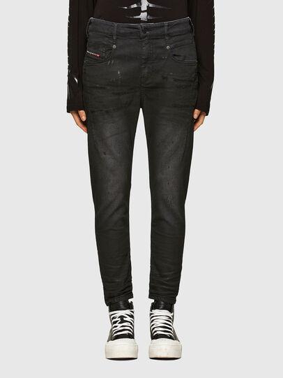 Diesel - FAYZA JoggJeans® 069QL, Black/Dark grey - Jeans - Image 1