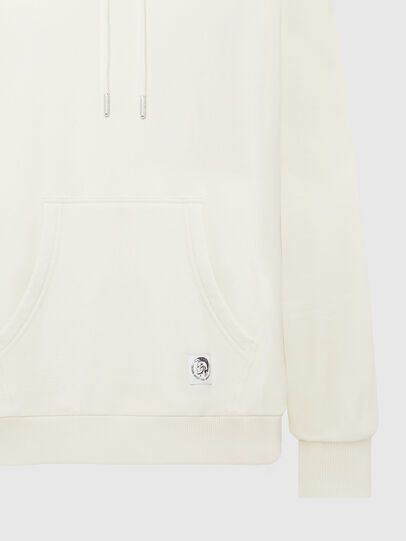 Diesel - S-GIRK-HOOD-MOHI, White - Sweaters - Image 3