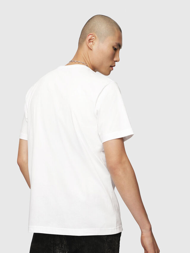 Diesel - T-JUST-POCKET, White - T-Shirts - Image 2