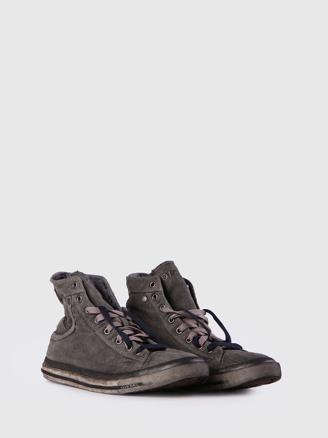 Diesel EXPOSURE I, Metal Grey - Sneakers - Image 2