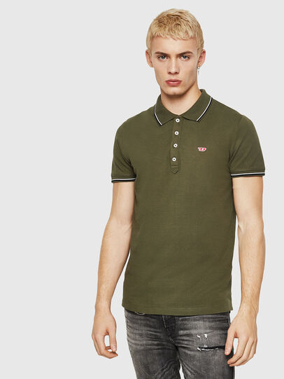 Diesel - T-RANDY-NEW, Military Green - Polos - Image 1