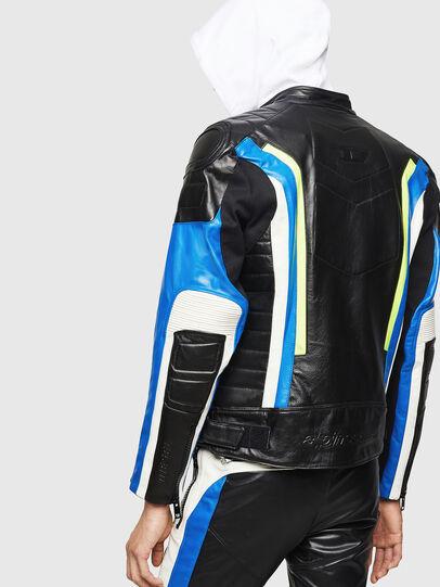Diesel - ASTARS-LDUE, Black - Leather jackets - Image 2