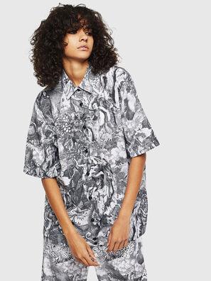 C-FRY, Black/White - Shirts