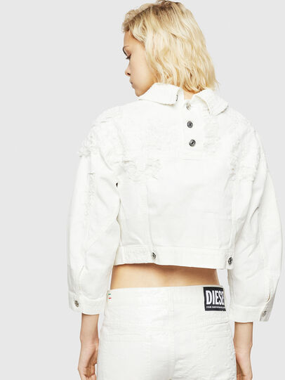 Diesel - DE-CATE, White - Denim Jackets - Image 2
