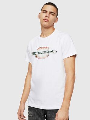 T-DIEGO-B10, White - T-Shirts