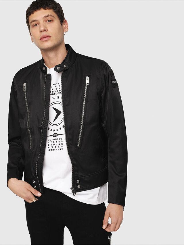Diesel - J-CORELI, Black - Jackets - Image 1