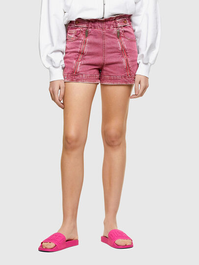 Diesel - DE-KUNAP-SP1, Pink - Shorts - Image 1