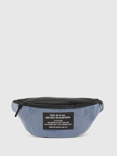 Diesel - D-THISBAG BELT, Blue/Black - Belt bags - Image 1
