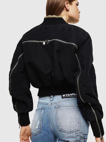 Diesel - W-LESKY, Black - Winter Jackets - Image 2