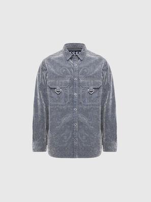 D-RONNY, Grey - Denim Shirts