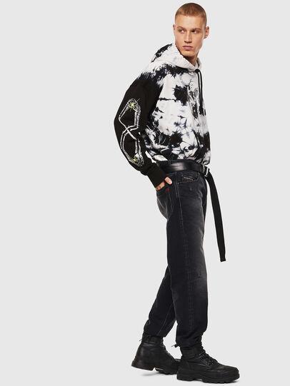 Diesel - S-ALBY-Y, Black/White - Sweaters - Image 5