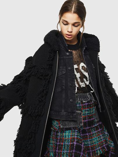 Diesel - M-LYNE, Black - Winter Jackets - Image 4