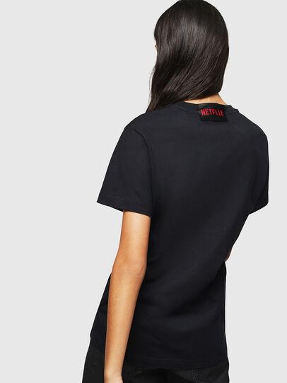 Diesel - LCP-T-DIEGO-TOKIO, Black - T-Shirts - Image 4