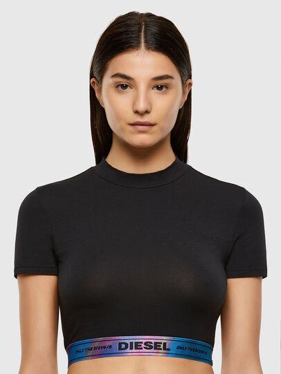 Diesel - UFTEE-GIORGI-SV-ML, Black - T-Shirts - Image 1