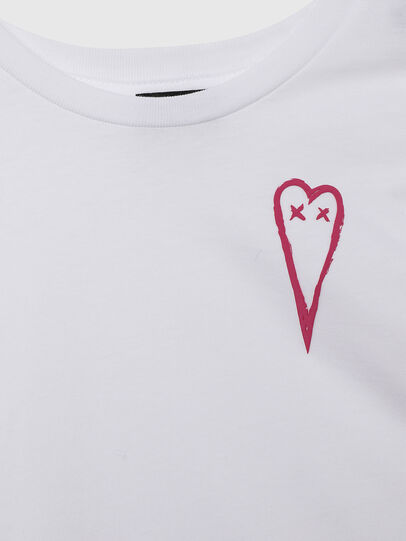 Diesel - TSILYHEARTS, White - T-shirts and Tops - Image 3