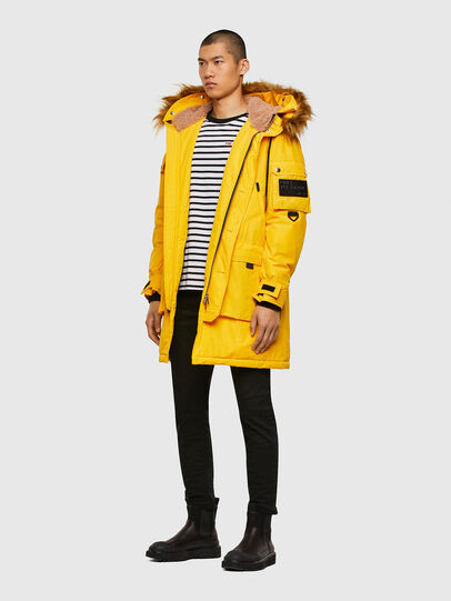 Diesel - W-COLBY, Yellow - Winter Jackets - Image 6