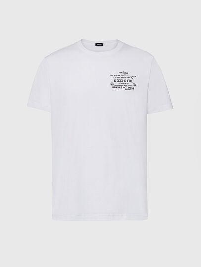Diesel - T-DIEGOS-X44, White - T-Shirts - Image 1