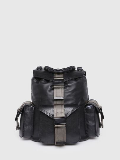 Diesel - MISS-MATCH BACKPACK, Anthracite - Backpacks - Image 1