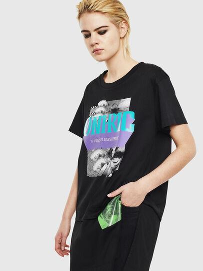 Diesel - T-SHALIE, Black - T-Shirts - Image 1