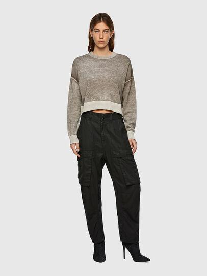 Diesel - M-CALIFORNIA, Light Grey - Knitwear - Image 5
