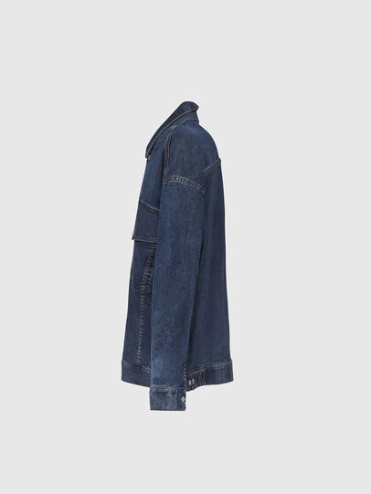 Diesel - D-RAF-SP JOGGJEANS, Dark Blue - Denim Jackets - Image 3