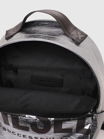 Diesel - F-BOLD BACK FL II, Silver - Backpacks - Image 4