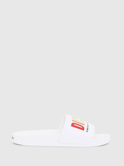 Diesel - SA-VALLA W, White - Slippers - Image 1