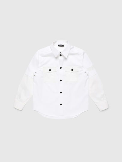 Diesel - CSKOSOV OVER, White - Shirts - Image 1