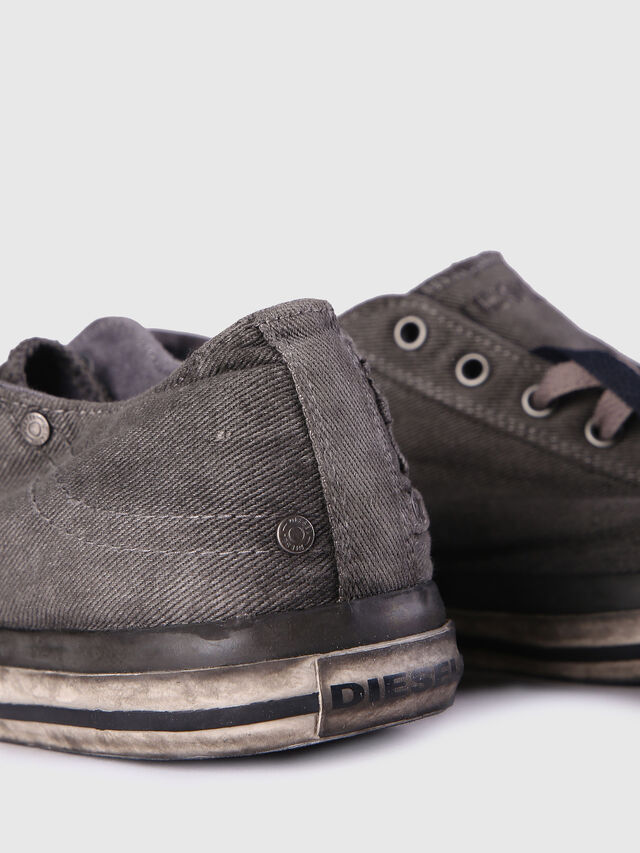 Diesel EXPOSURE LOW I, Metal Grey - Sneakers - Image 6